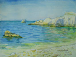 Blue bay by yellika