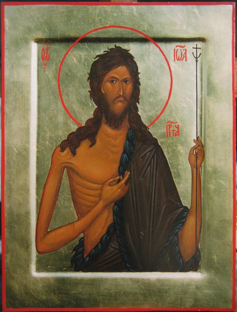 St. John the Baptist by yellika