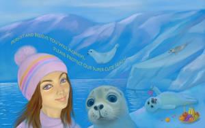 <b>Salfi The Princess Kaikouri With The Seals</b><br><i>yellika</i>