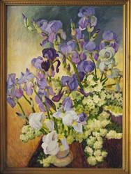 Irises by yellika