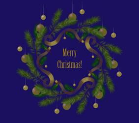 Golden Christmas by yellika
