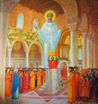The position of the relics of the martyr Clement