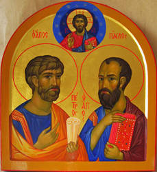 Holy Apostles Peter and Paul by yellika