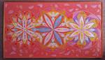 Pink Triple Mandala by yellika
