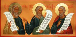 Prophets Zephaniah, Jeremiah, Izekiel