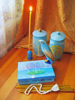<b>Blue Still Life With Box</b><br><i>yellika</i>