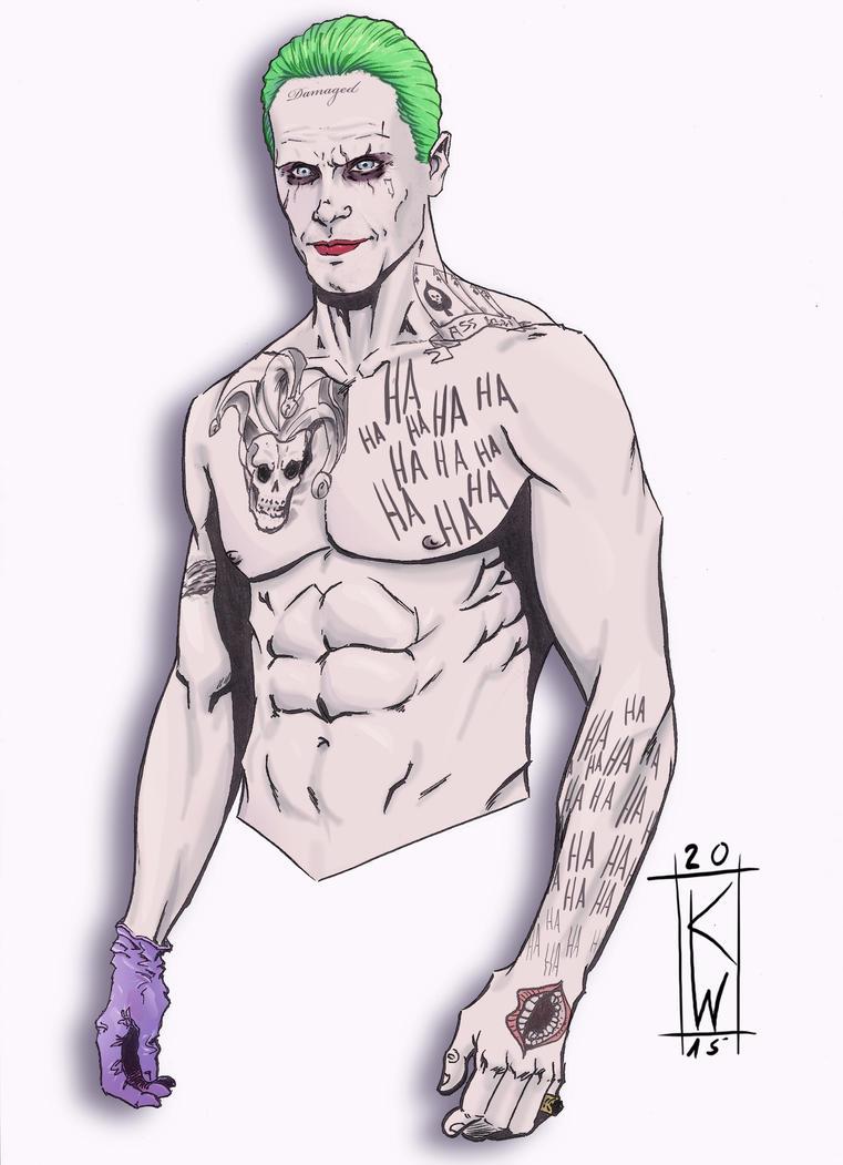 Suicide Squad: Joker by KevinWatzlawik