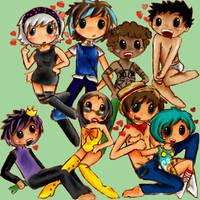 gettin them characters by ichigo-ai