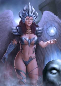 water magic woman