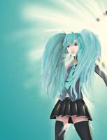 Vocaloid Miku by manu34695