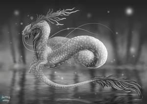 Platinum dragon commission