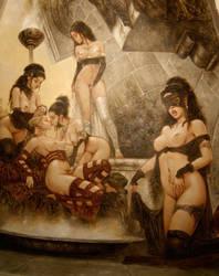 Romulo Royo la Chapelle Sappho Sixty Nine by milanroman