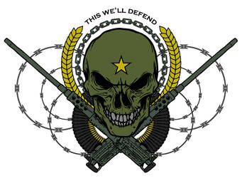 THIS WE'LL DEFEND by ragingcephalopod