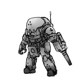 power armor junk by ragingcephalopod