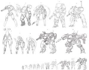 machine sketches
