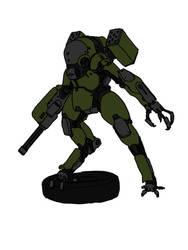 oni class exoskeleton by ragingcephalopod