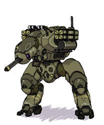 Kiwi combat mech