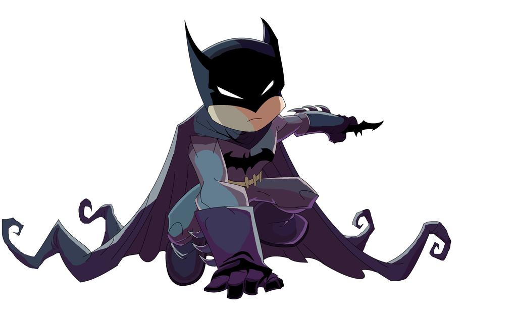 how to draw batman chibi