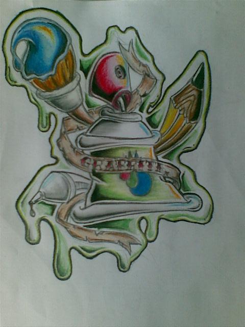 graffiti tattoo by kuyajay on deviantART