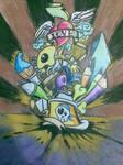 graffiti tatto mix