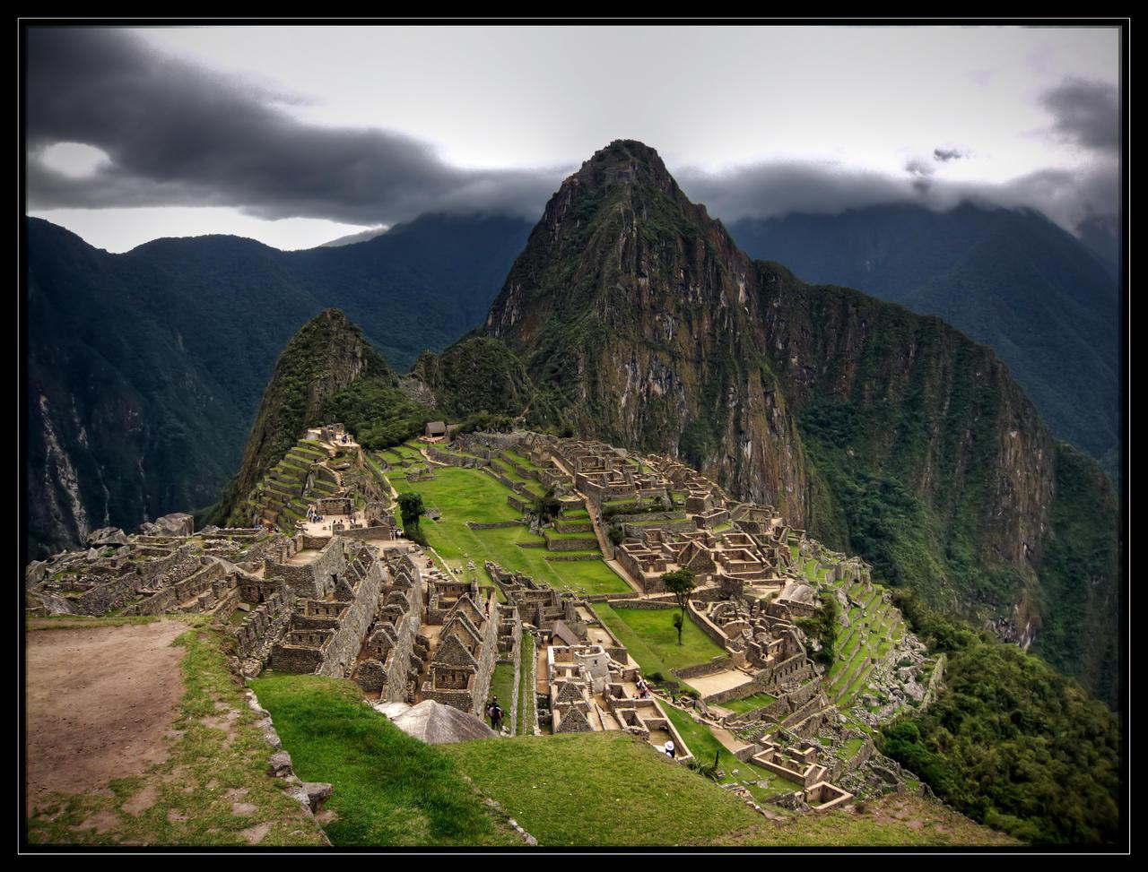 The Ruins of Machu Picchu by CashMcL