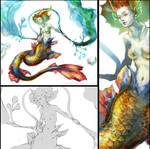 Mermaid (close-up)
