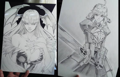 Some pencil drawings...