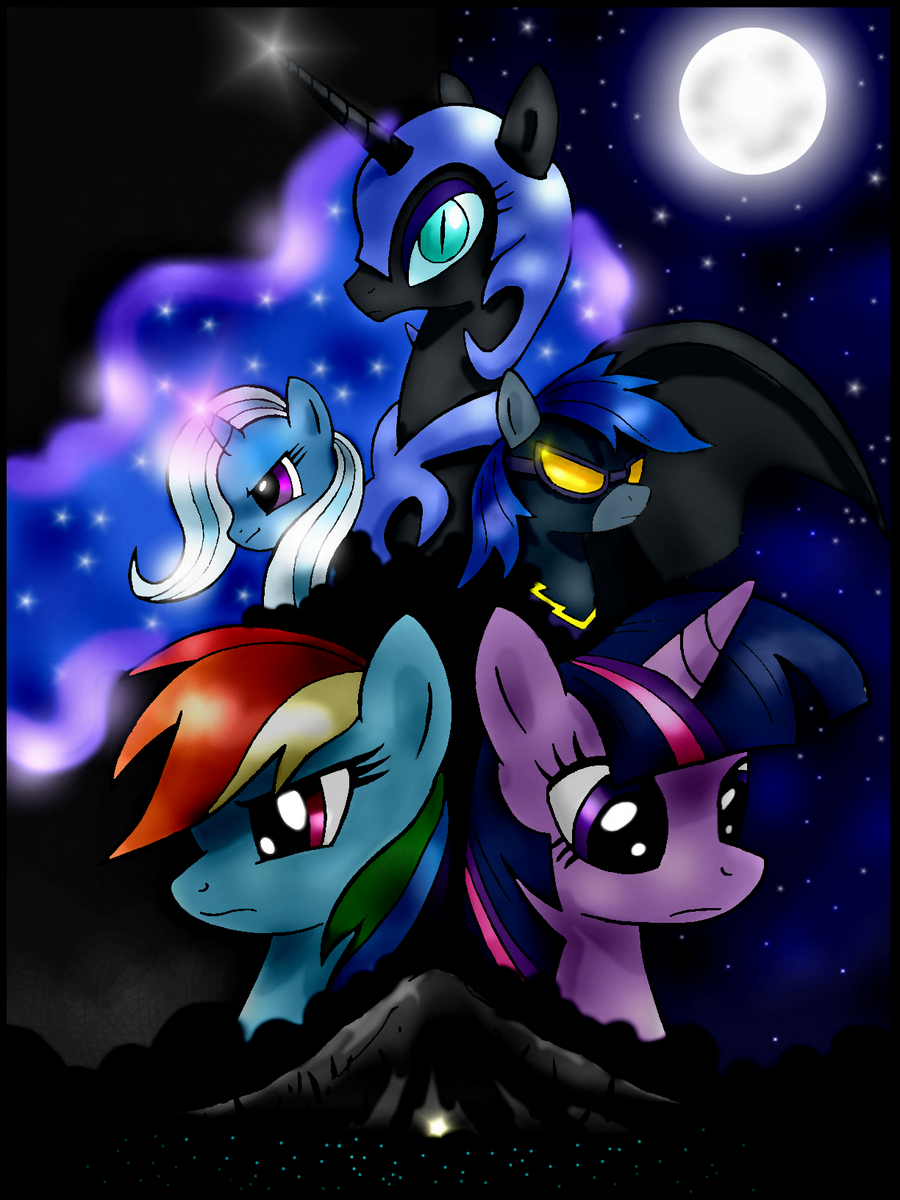 The Night That Never Ended (old cover) by unitoone