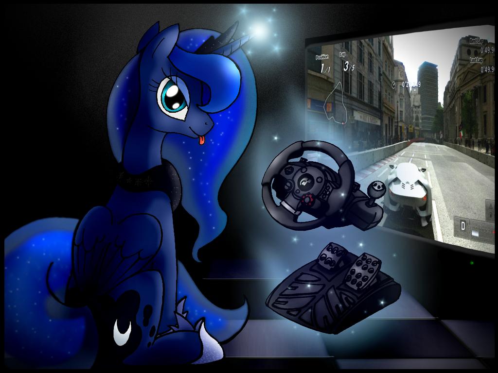 Gamer Luna by unitoone