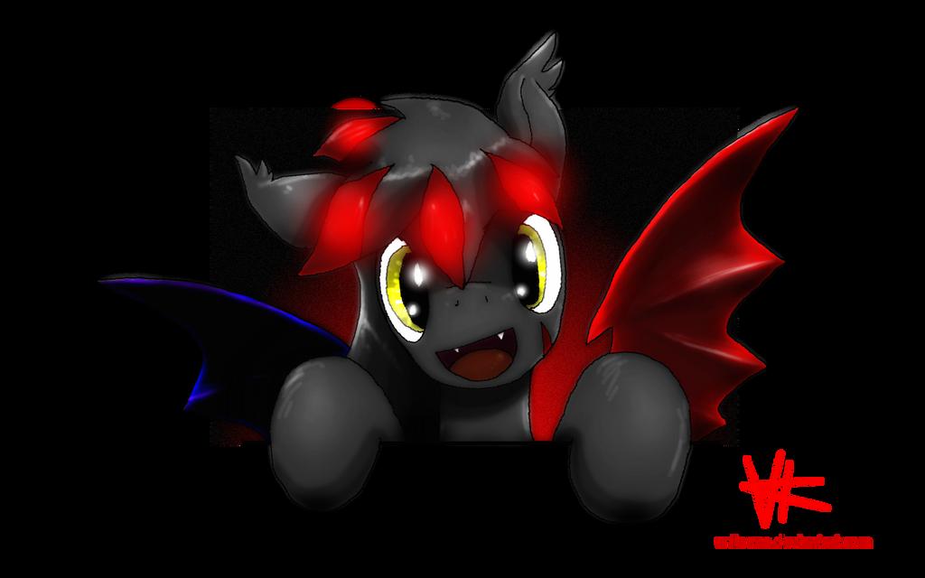 Bat Pony Fy by unitoone