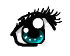 an eye by strangetail