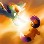 (Old) I can fly, Rainbow Dash!