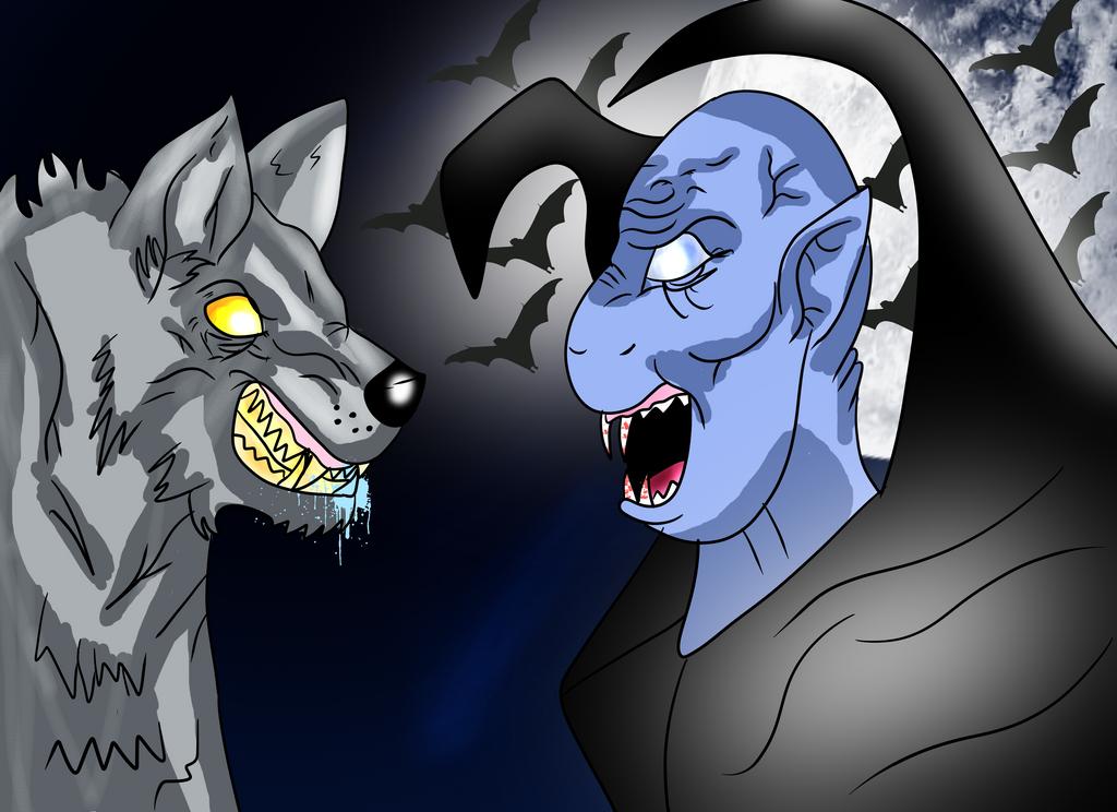 Niggi Vampires Vs Niggi Werewolves by NiggiThor