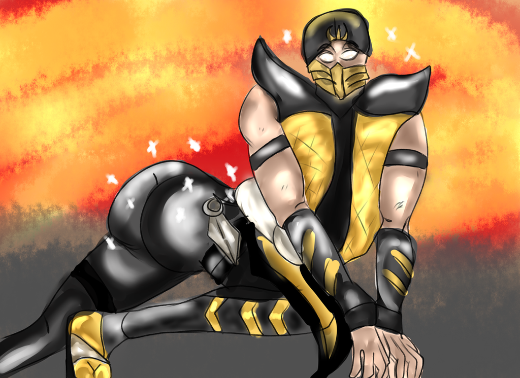 Niggi Scorpion and his finest assets by TheNiggiNecromancer