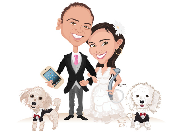 Matrimonio Catolico Caricatura : Caricatura para matrimonio by elunicocalvo on deviantart