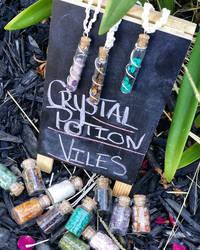 Crystal Potion Viles