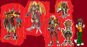 Takuya and his digimon forms