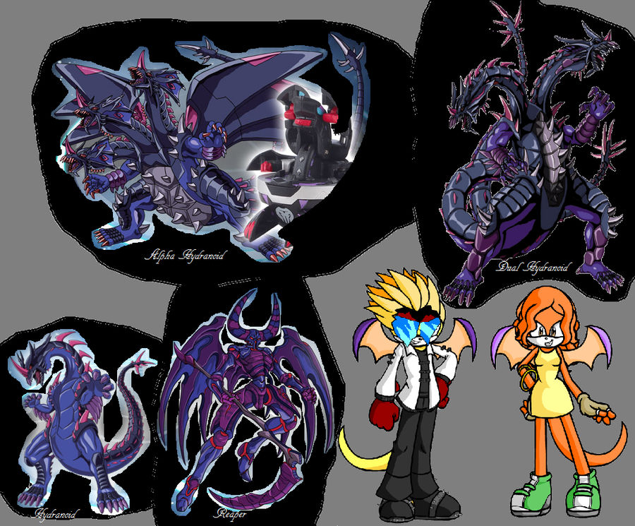 Alice/Masquerade and Reaper and Hydranoid by Superwinx8 on