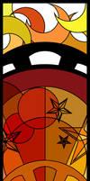 Red Lunarium by slrfirestorm