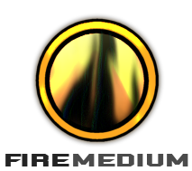 FIREmedium Logo by slrfirestorm