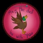 Duck - Sticker 2 by RabbitDarkMoon