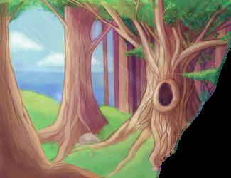 forest by Kshsha