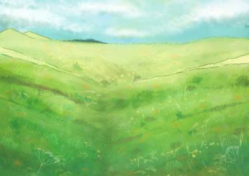 steppe by Kshsha