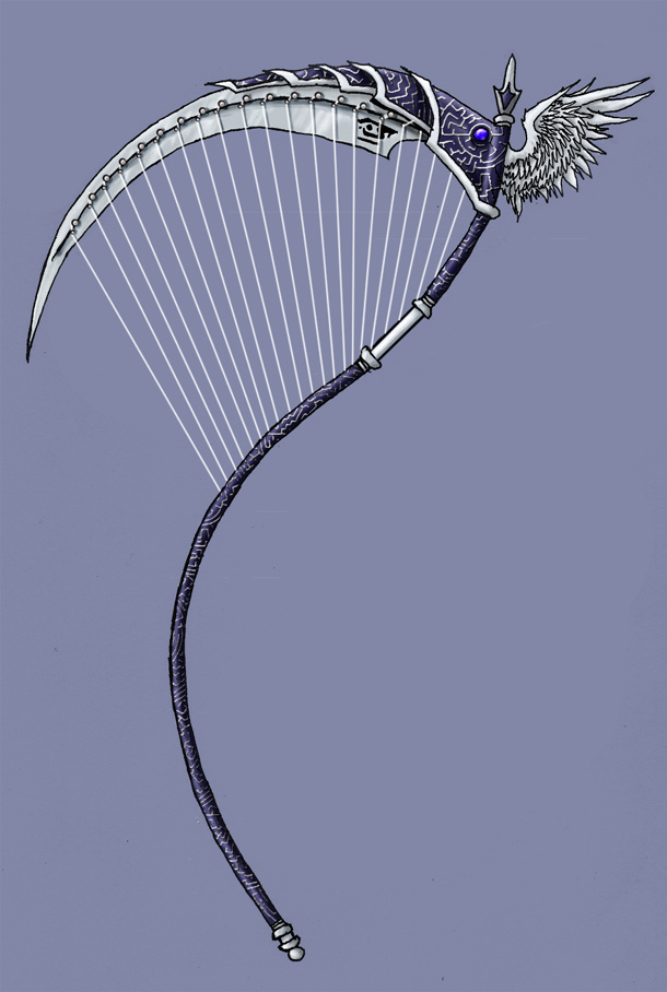 Dante's Stringed Scythe by EmperorJustin