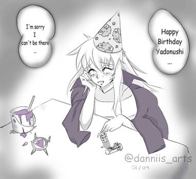 Happy Birthday Ryou 02/09 by Poof-Ink