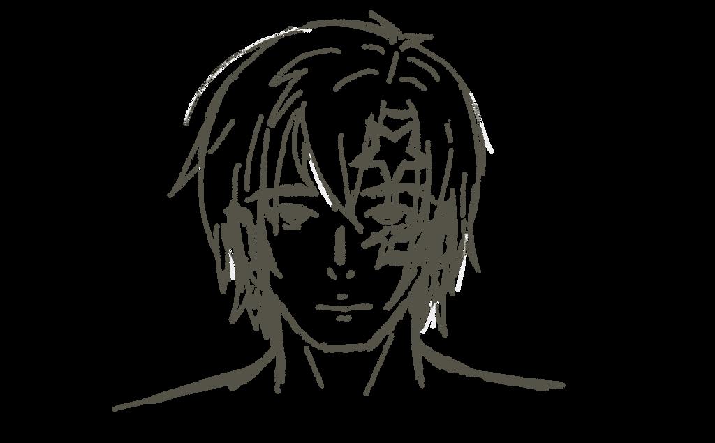 D Gray Man Allen Walker 5 Lineart Sketch By Al Likesfood On Deviantart