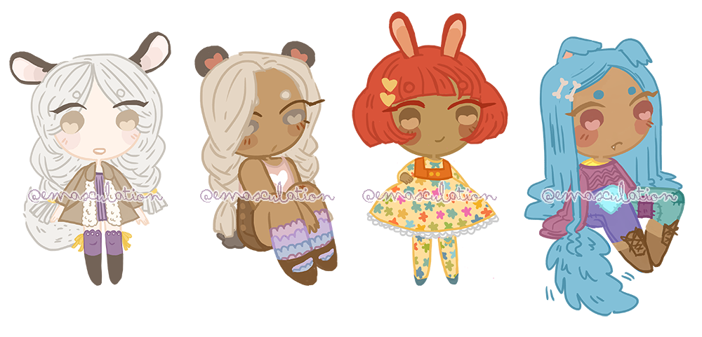 Kemonomimi Adopts - set price - (Open 3/4) by emasculation
