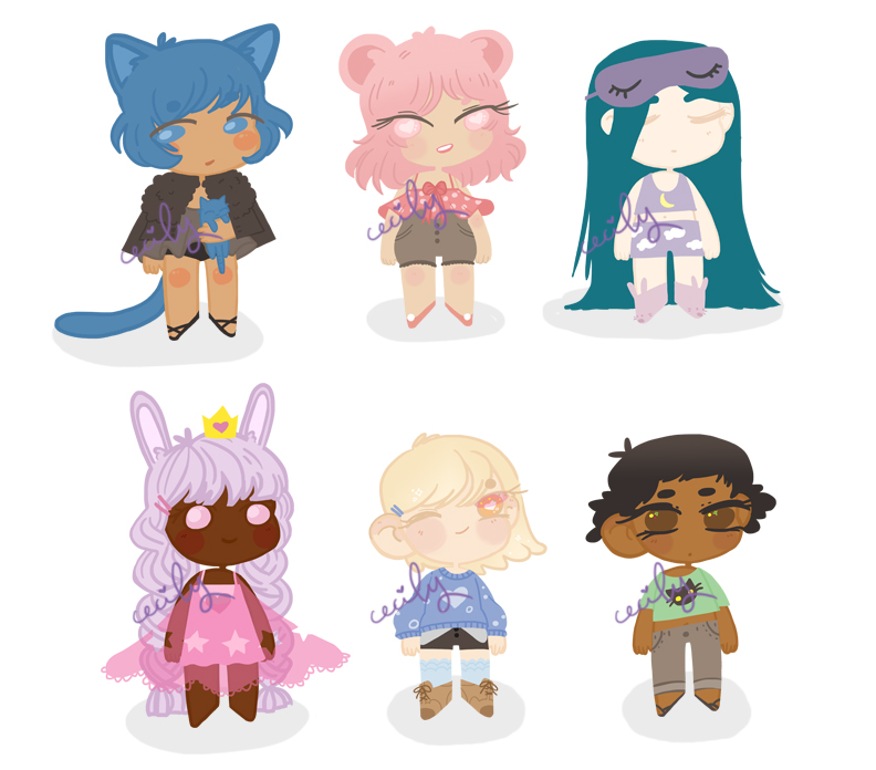 various adopts - set price - OPEN 1/6 by emasculation