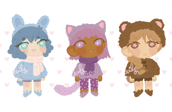 soft fluff adopts - set price - OPEN 3/3 by emasculation