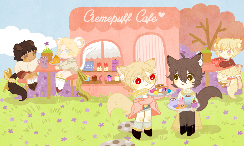 Creampuff Cafe by emasculation